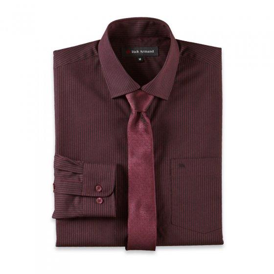 Overhemd en stropdas