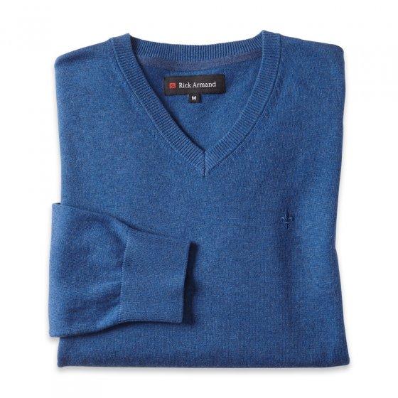 Moderne trui met V-hals