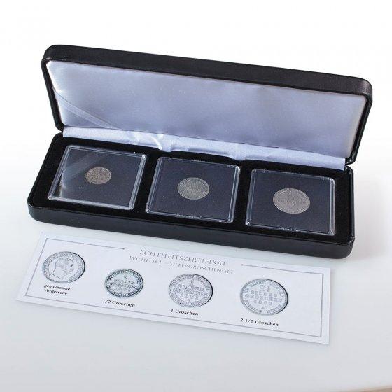 Muntenset 'Pruisische Silbergroschen'