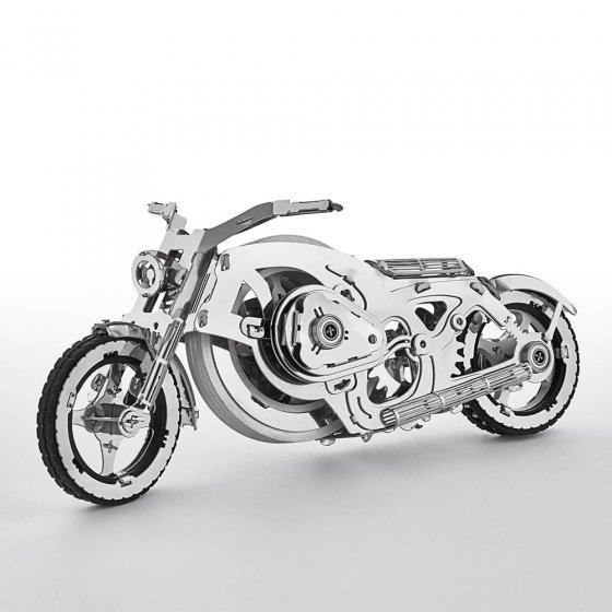 Metalen model 'Chrome Rider'
