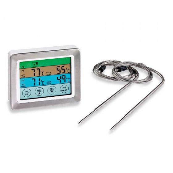 Braadthermometer met 2 sensoren