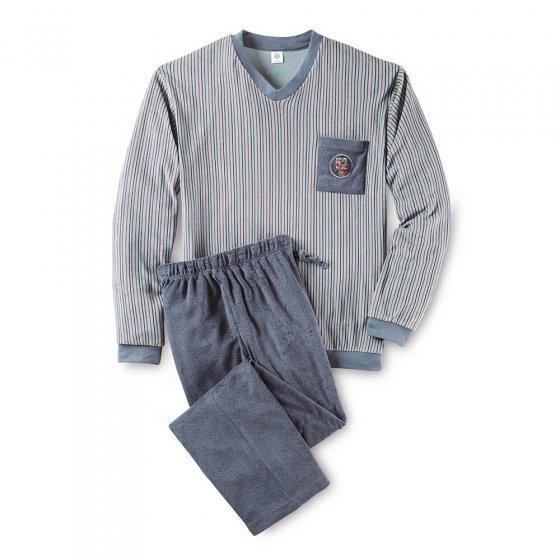 Pyjama van badstof