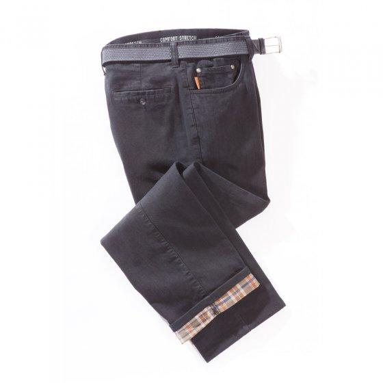 Jeans met thermische voering