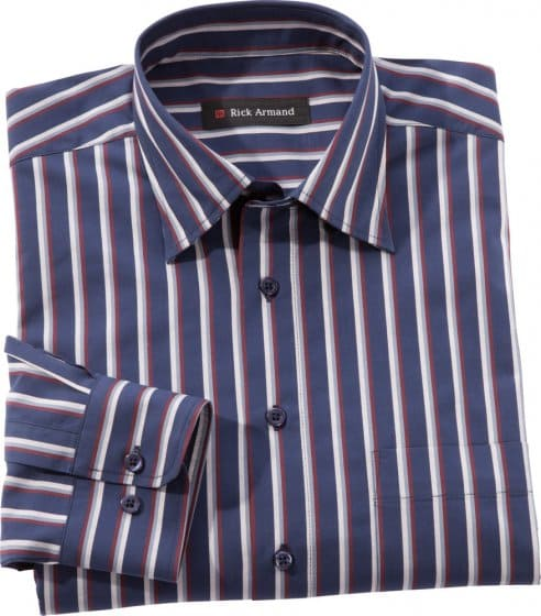 Exclusief streepoverhemd
