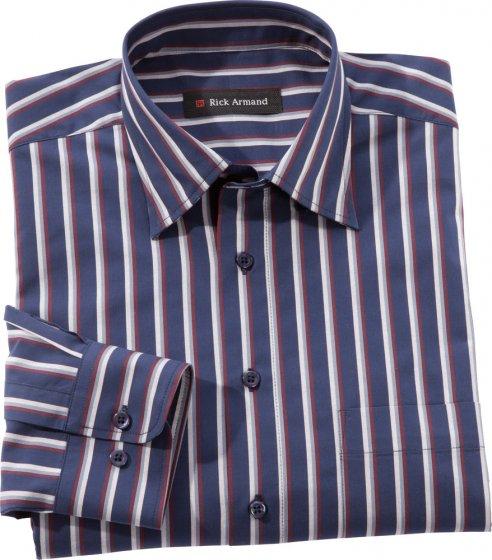 Exclusief streepoverhemd, Zwart gestreept