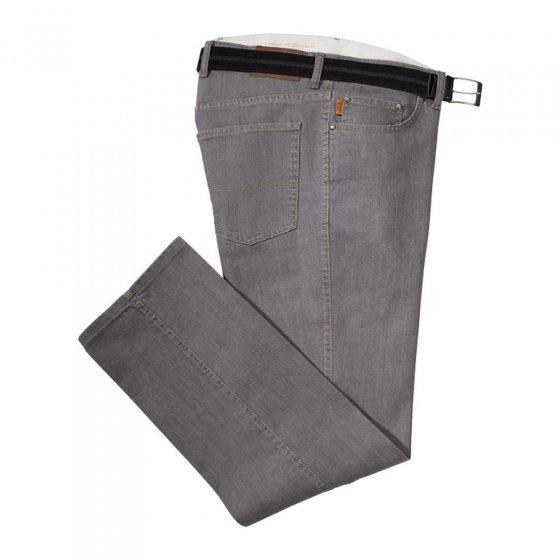 Comf.jeans in buikmodel,Grijs 28 | Grijs