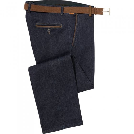 Jeans met contrasten,26 26 | Donkerblauw