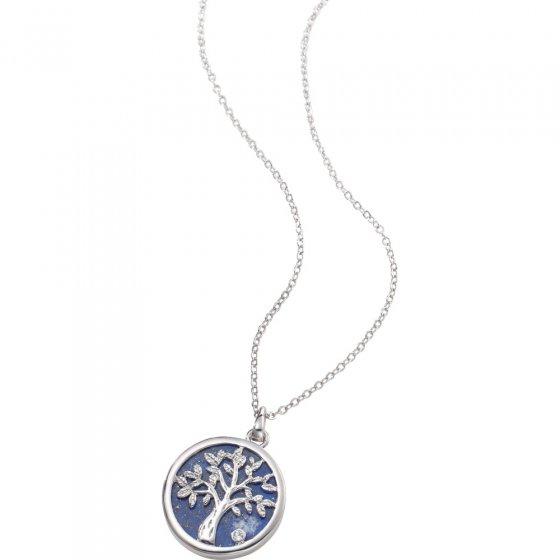Lapis Lazuli levensboom ketting