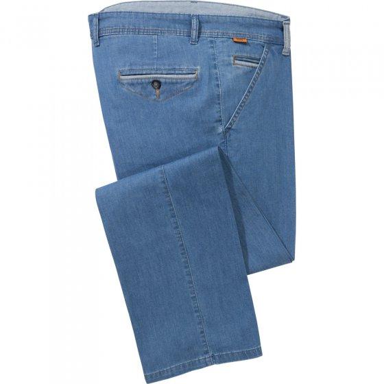 Lichte jeans met leuke accenten
