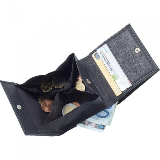 Portemonnee met munt-sorteervakjes 1 stuk