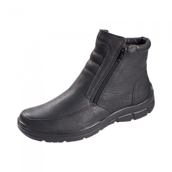 Aircomfort-laarzen v. lamsbont 45 | Zwart