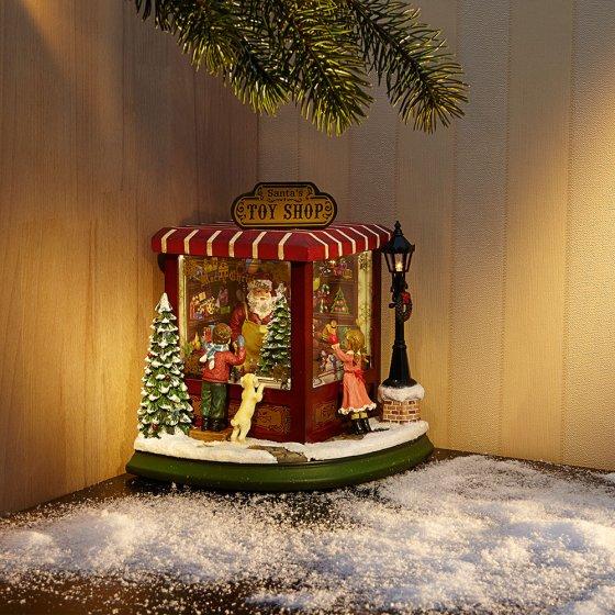 Muziekdoosje 'Santa's Toy Shop'