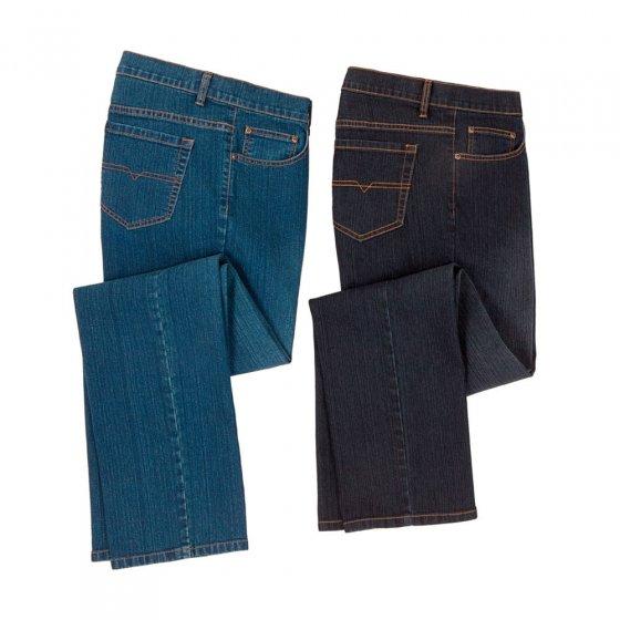 Heren Stretch Jeans (Set van 2)