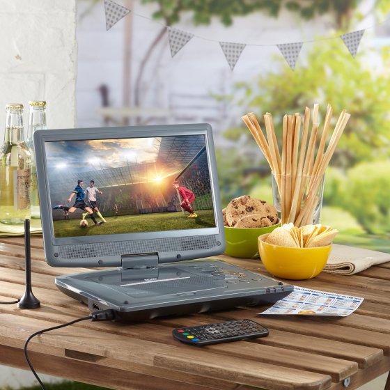 Draagbare dvd- en DVB-T2-speler