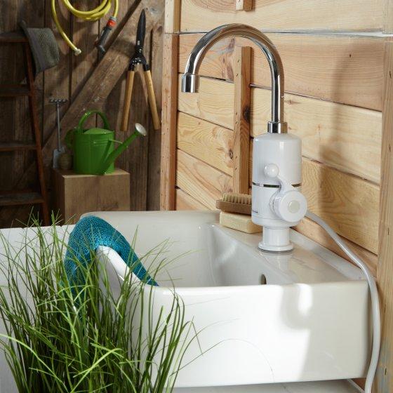 Doorstroomverwarmer-waterkraan