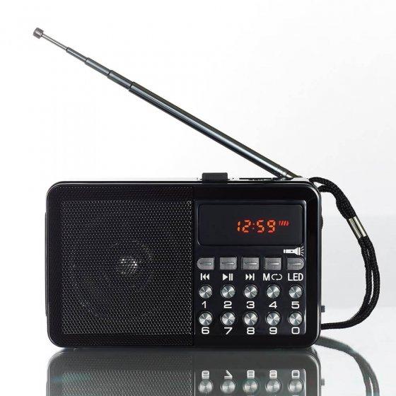 UW CADEAU MET KRACHTIG GELUID: multifunctionele radio met licht