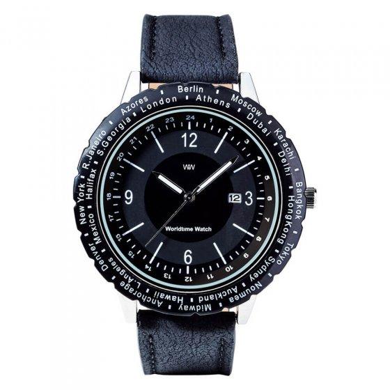 """Het horloge  """"wereldtijd"""""""
