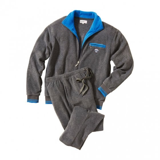 Thermo-homesuit van fleece L | Grijs