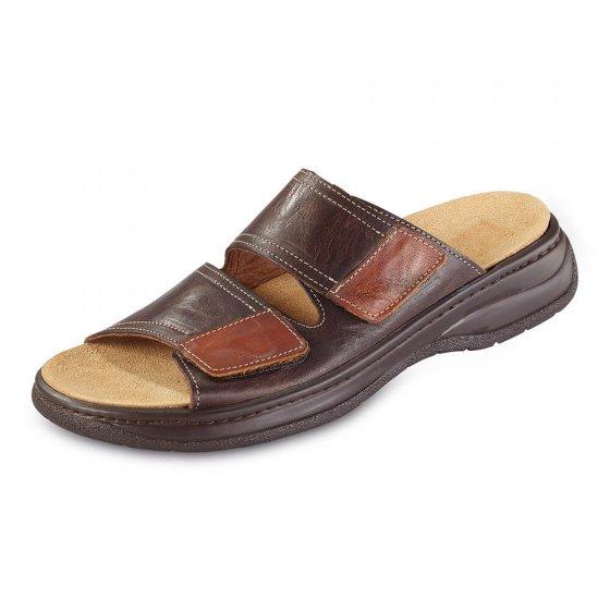 Comfortabele slippers met klittenband