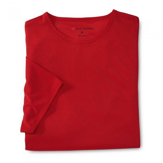 T-shirt 'Argentum' Set van 2 stuks M | Marine#Rood