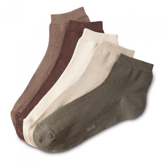 Korte sokken Set van 5