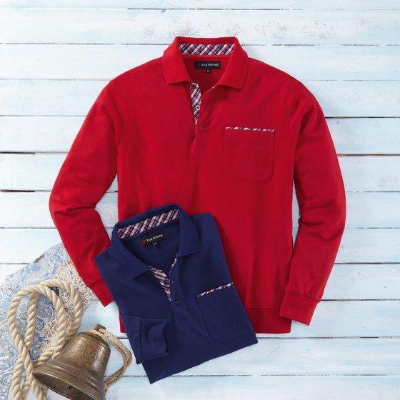 Marine + rood als set XL | Rood#Marine