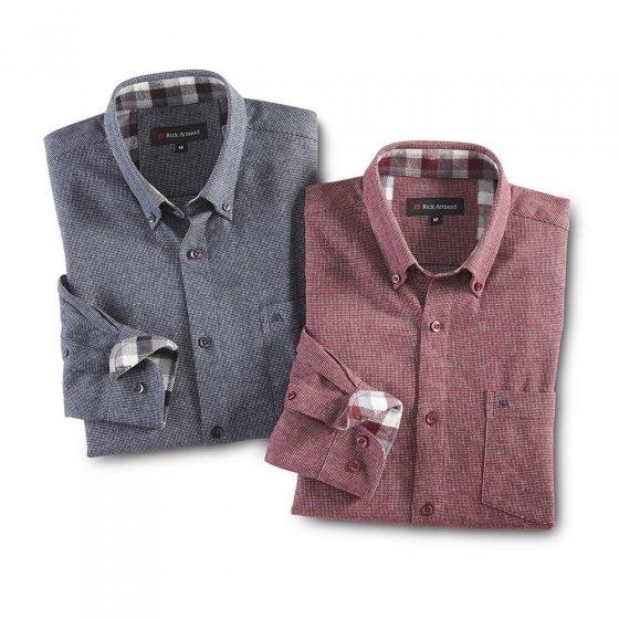 Luxueus flanellen overhemd