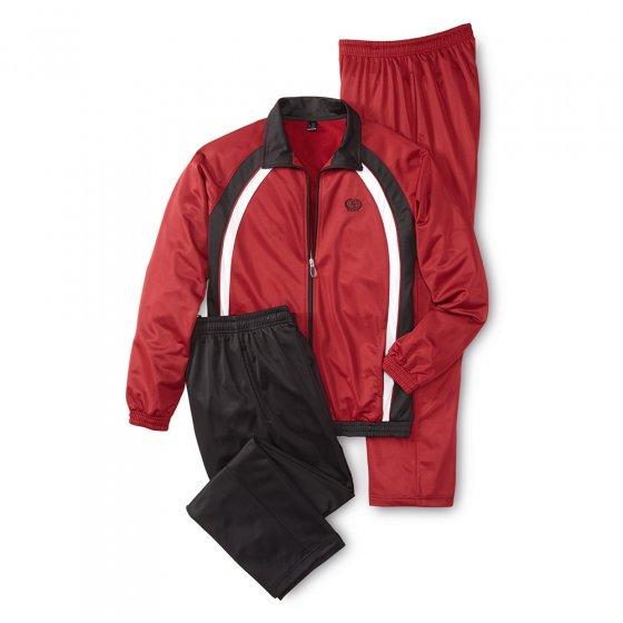 Sportpak met 2 broeken XL | Bordeaux#zwart