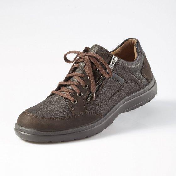 Aircomfort-schoenen met ritssluiting 43 | Bruin