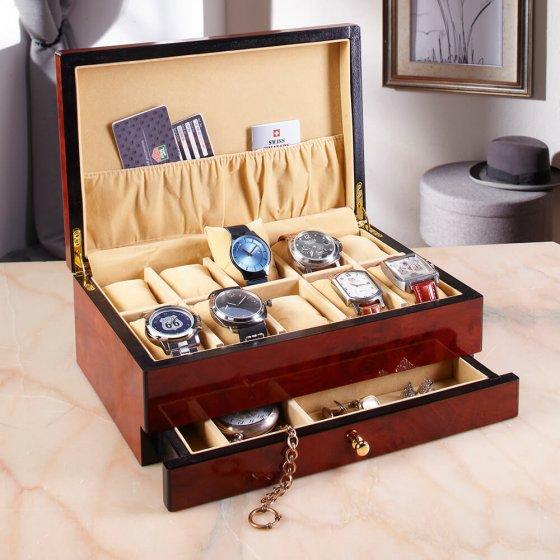 Houten horlogebox