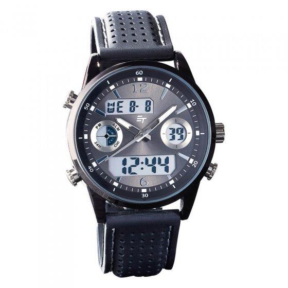 Uw cadeau: multifunctionele chronograaf