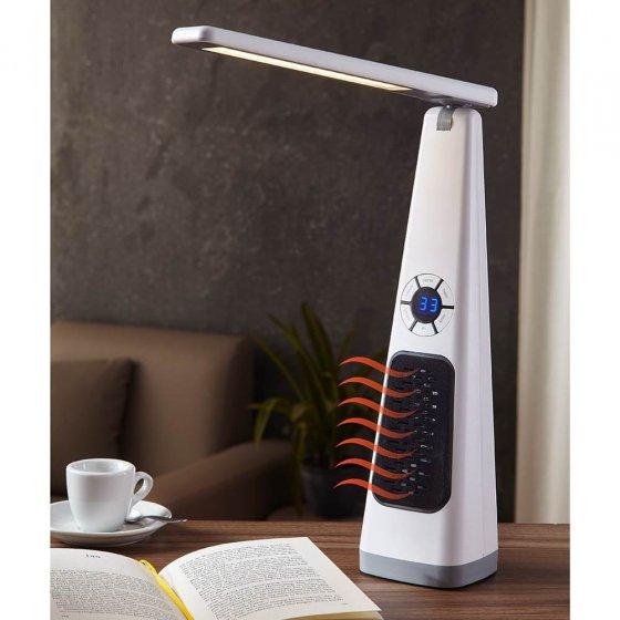 Lamp met verwarmingsfunctie