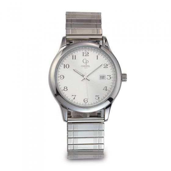 Klassieke horloge met elastisch bandje