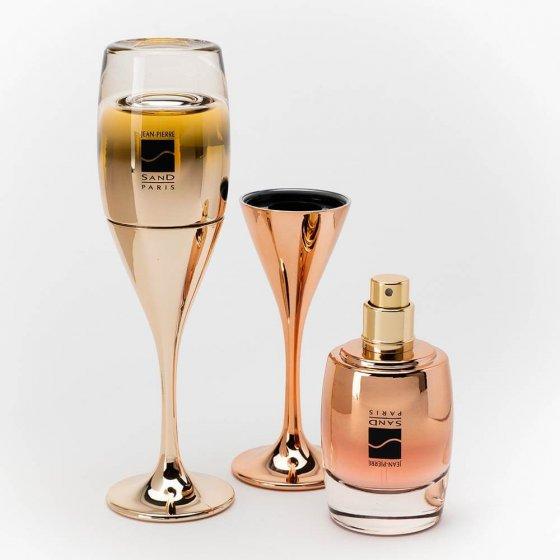Eau de parfum 'Champagne' Set van 2 stuks