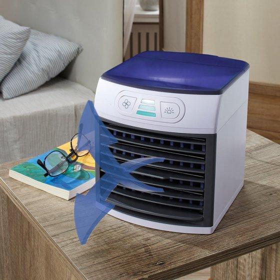 Mini-airco met sfeerverlichting