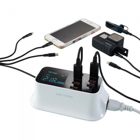 Intelligente USB-oplader met snellaadfunctie