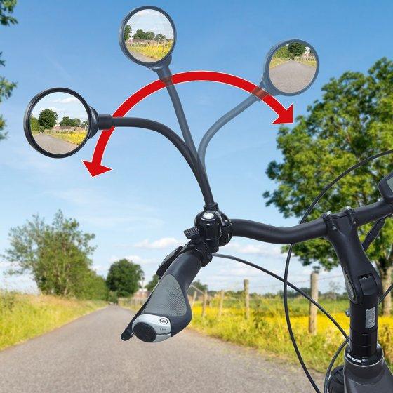 Fietsspiegel met zwanenhals 3D