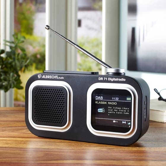 Albrecht-DAB+/FM-compactradio