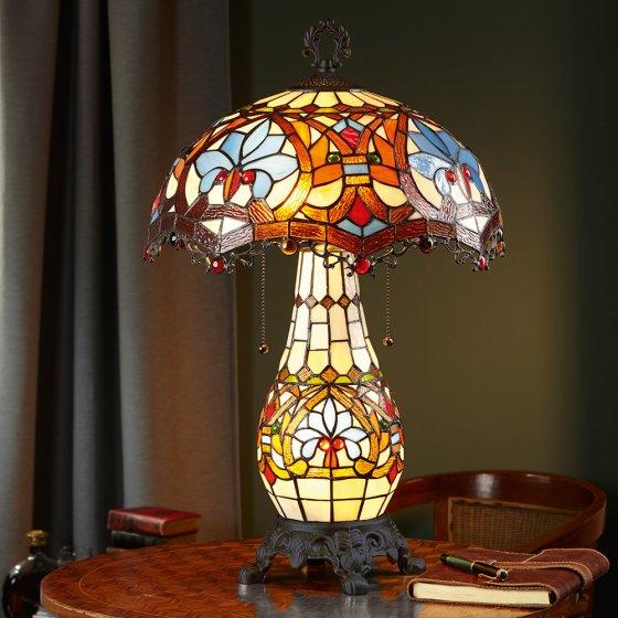 Tafellamp in Tiffany-stijl