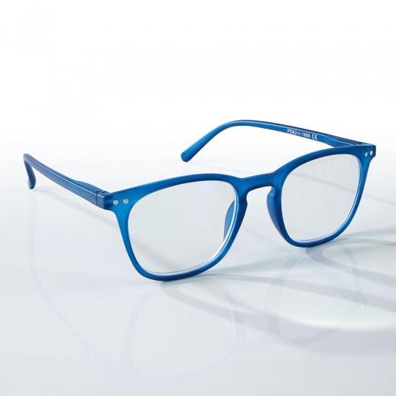 Vergrotingsbril met blauwfilter