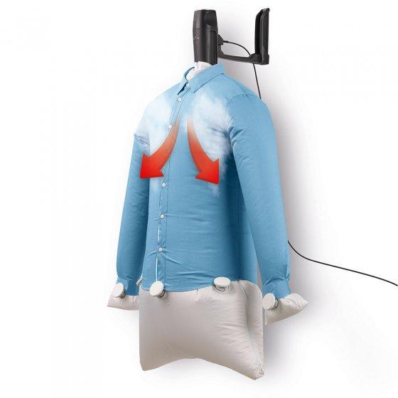 Compact strijkijzer voor overhemden en blouses