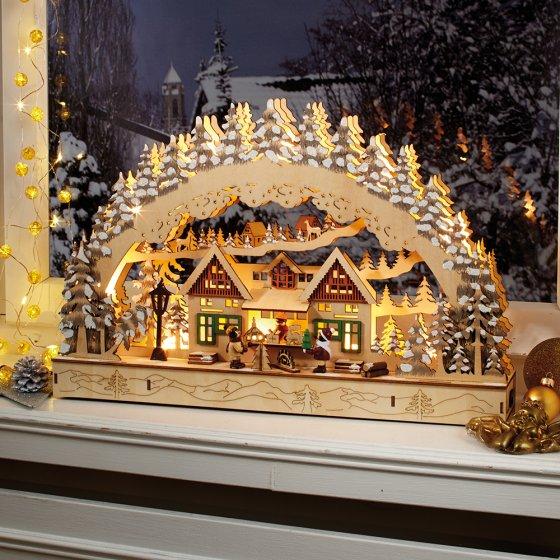 "Led-lichtboog  ""Kerstmarkt"""
