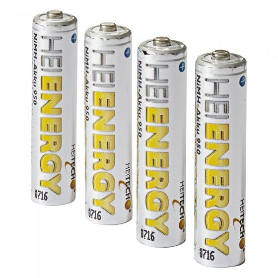 Vooraf opgeladen batterijen Set van 4
