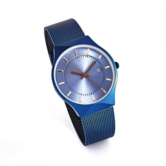 Plat horloge 'Azzurro'