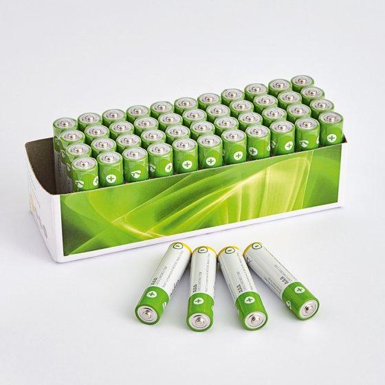 Megaset batterijen 40 stuks