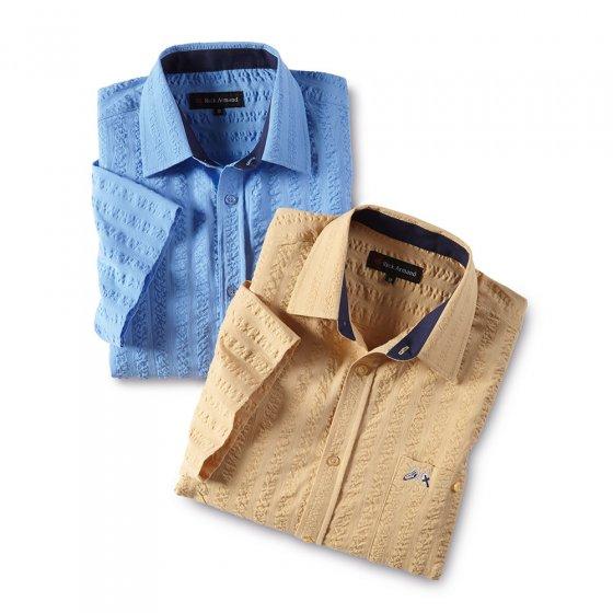 Seersucker-overhemd