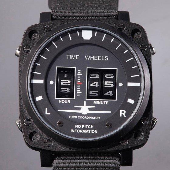 Horloge 'Time Wheels'