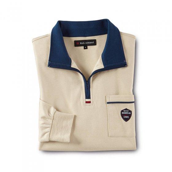 Comfortabel interlockshirt