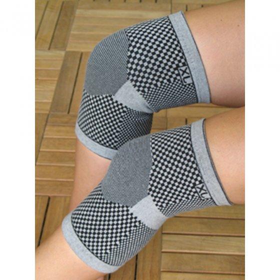 Actief-koolstof-kniebeschermers 2 stuks