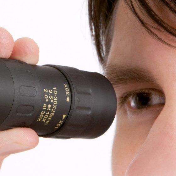 Monoculair met 30-voudige zoom en macro